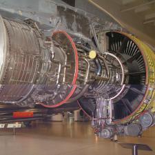 Airbus A 300 - motor 1